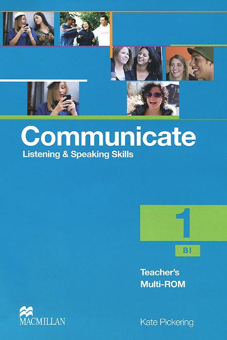 Communicate 1: Listening and Speaking Skills: Teacher's Multi-ROM communicate 1 listening