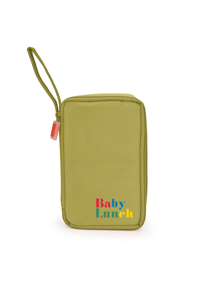 "IRIS ТермоЛанчбокс ""BABY LUNCH"" (+1 контейнер 450мл в комплекте)/ Зеленый"