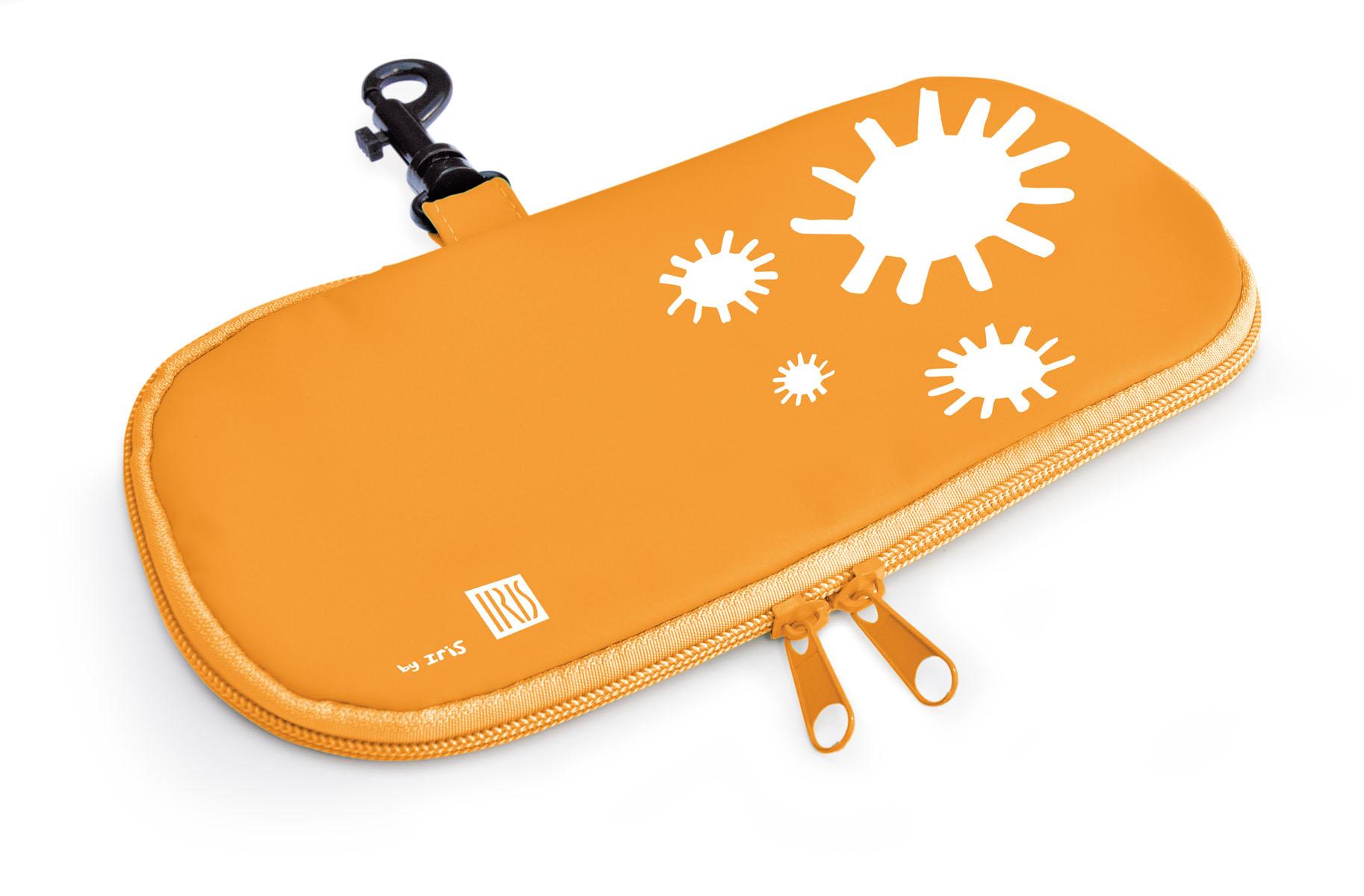 Термобутербродница мягкая Iris Barcelona Kids, цвет: оранжевый, 24 см х 12 см термоланчбокс iris barcelona nano cooler цвет оранжевый