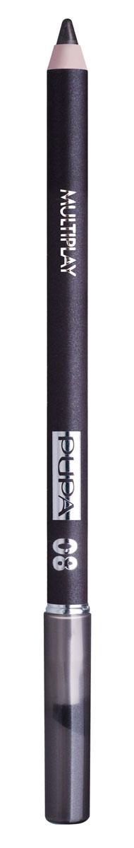 PUPA Карандаш для век с аппликатором Multiplay Eye Pencil, тон 08 светлый коричневый , 1.2 г цена