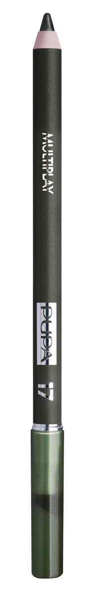 PUPA Карандаш для век с аппликатором Multiplay Eye Pencil, тон 17 еловый зеленый , 1.2 г карандаш для век made to last definition eyes pupa глаза