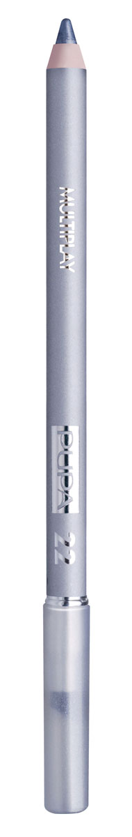 PUPA Карандаш для век с аппликатором Multiplay Eye Pencil, тон 22 серебряный , 1.2 г цена