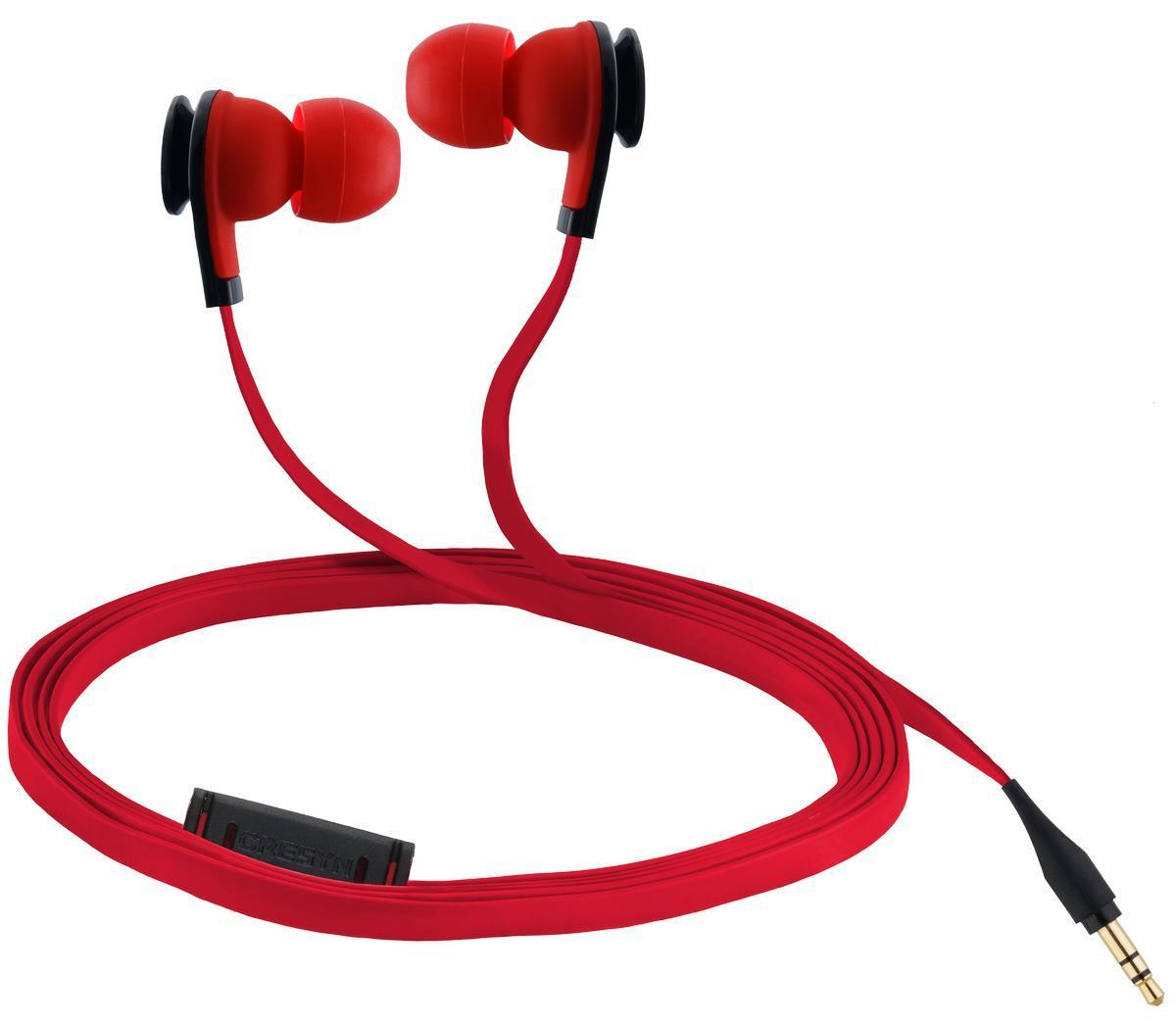 цена на Cresyn C520S, Red наушники с микрофоном