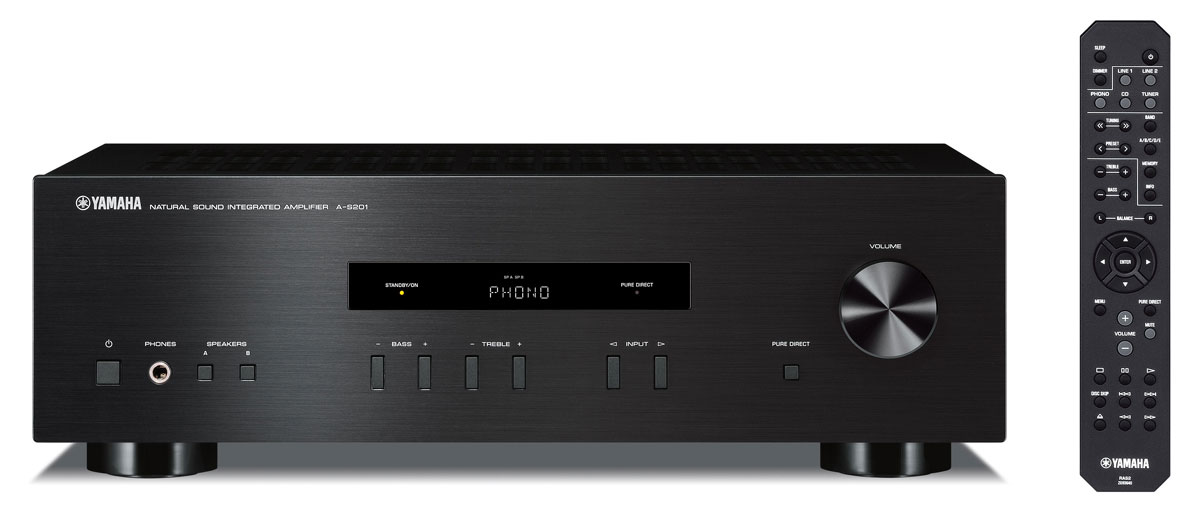Yamaha A-S201, Black стереоусилитель