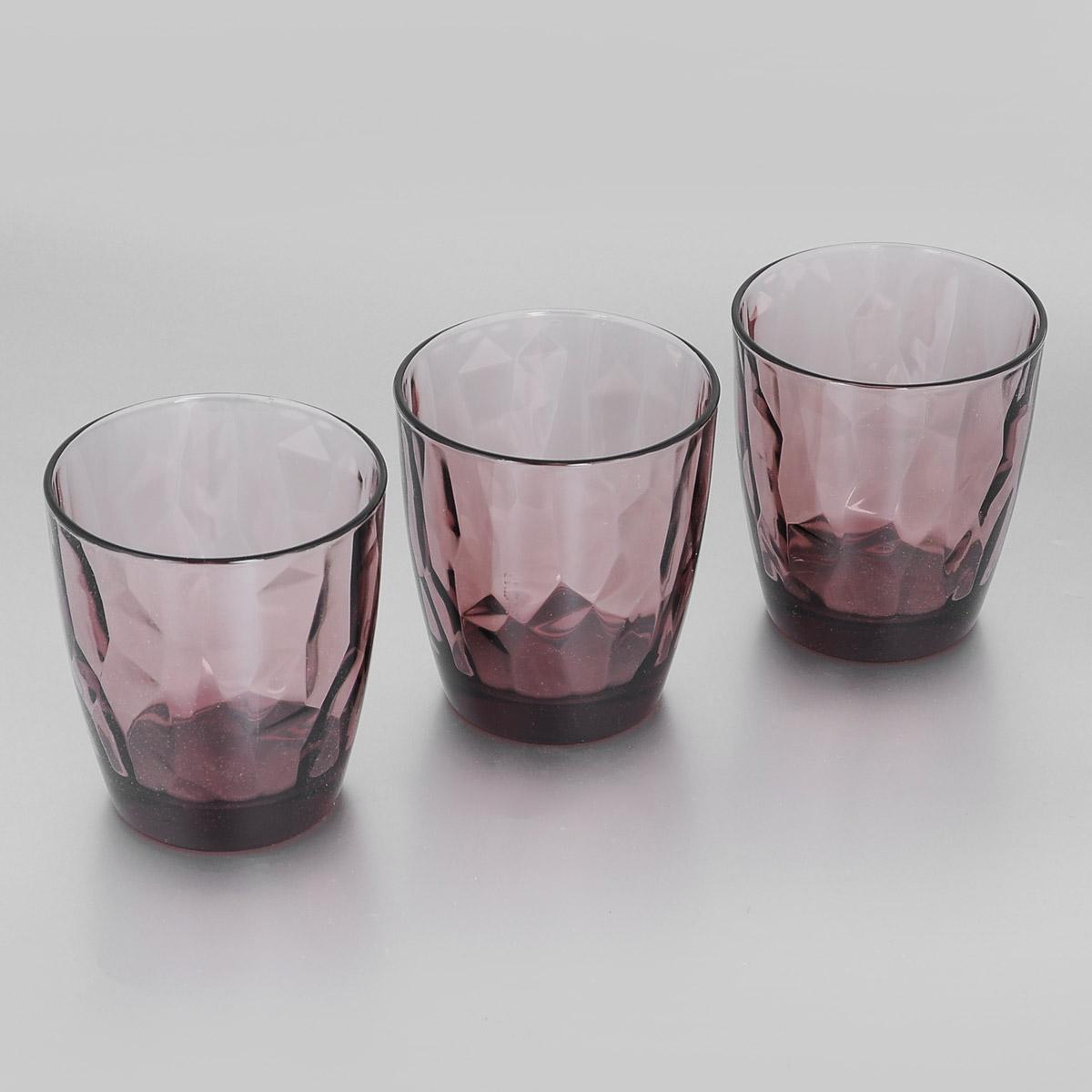 Набор стаканов Bormioli Rocco Diamond Rock Purple, 390 мл, 3 шт салатник bormioli rocco alfa