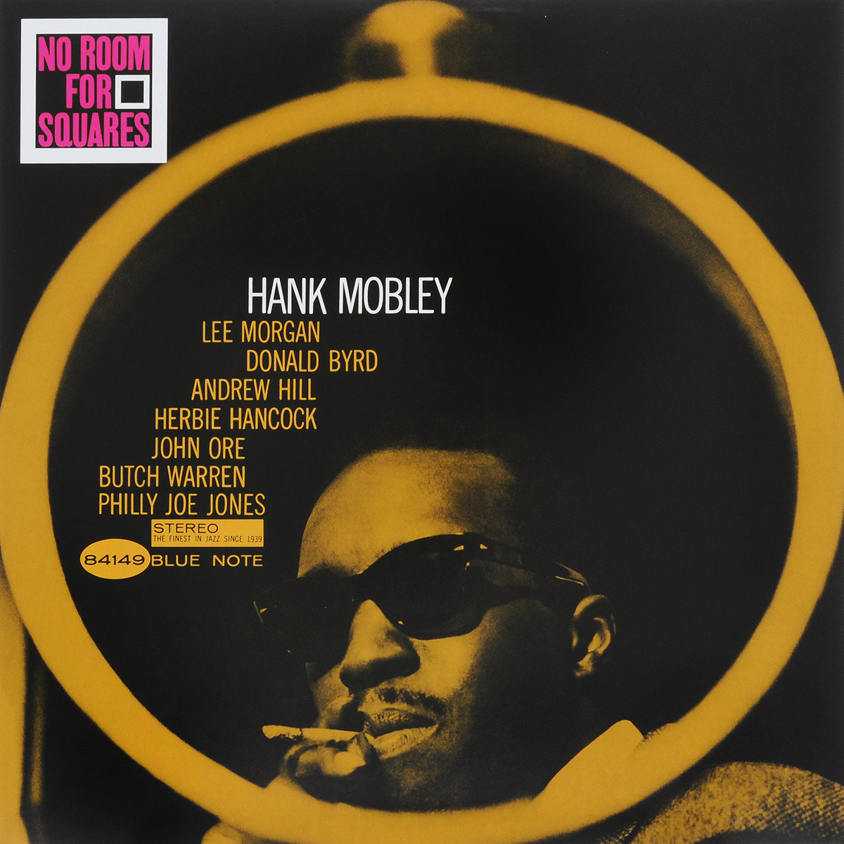 Hank Mobley. No Room For Squares (LP) two squares page 1