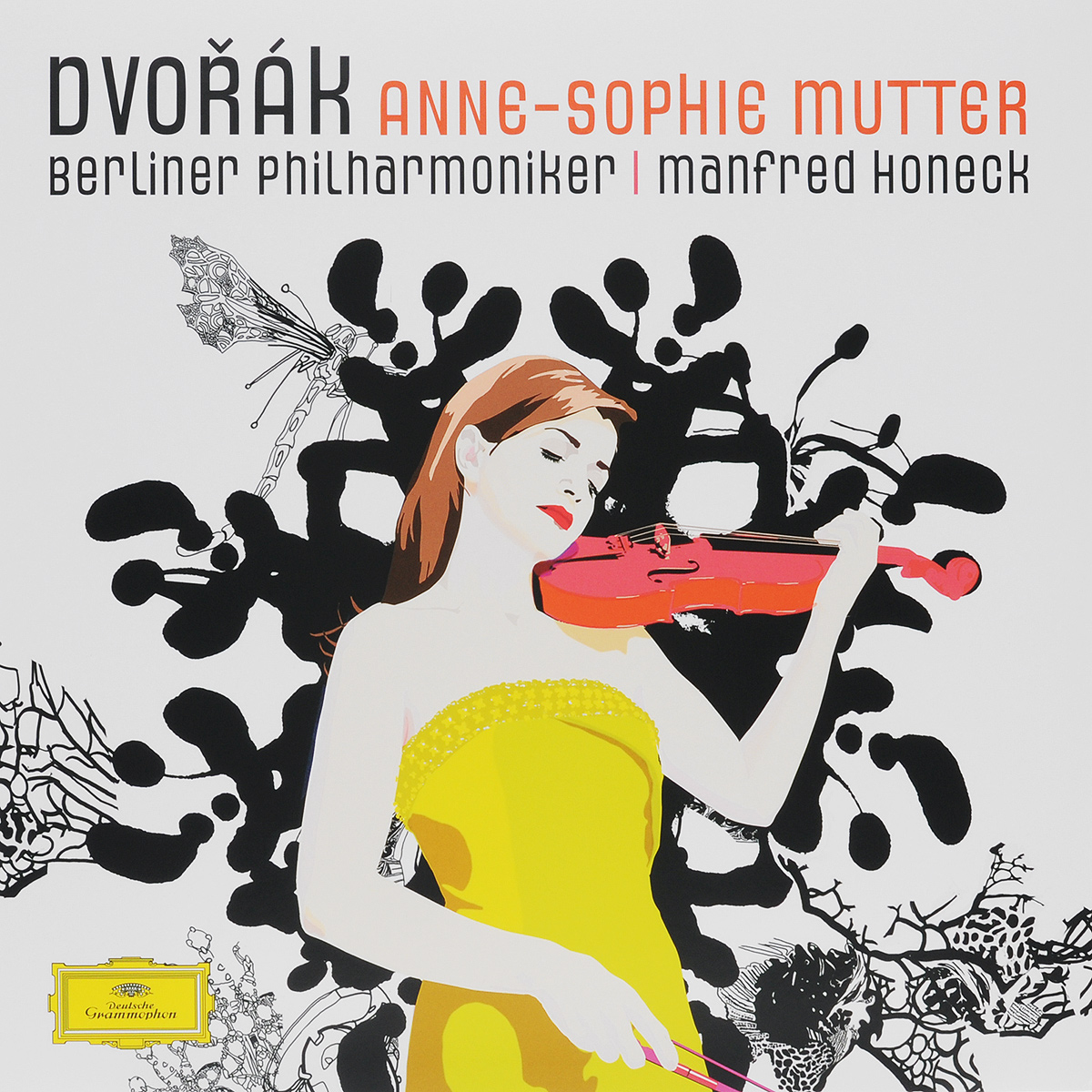 Анна-Софи Муттер,Berliner Philharmoniker,Манфред Хонек Dvorak / Anne-Sophie Mutter / Berliner Philharmoniker / Manfred Honeck (LP) анна софи муттер anne sophie mutter mendelssohn cd dvd