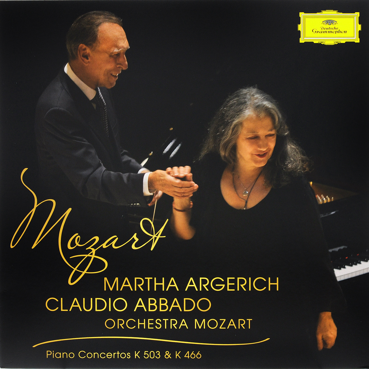 Клаудио Аббадо,Orchestra Mozart,Марта Аргерих Mozart. Piano Concertos K 503 & K 446. Martha Argerich / Orchestra Mozart / Claudio Abbado (LP) марта аргерих berliner philharmoniker клаудио аббадо the london symphony orchestra mahler chamber orchestra orchestra mozart martha argerich page 7 page 4 page 7