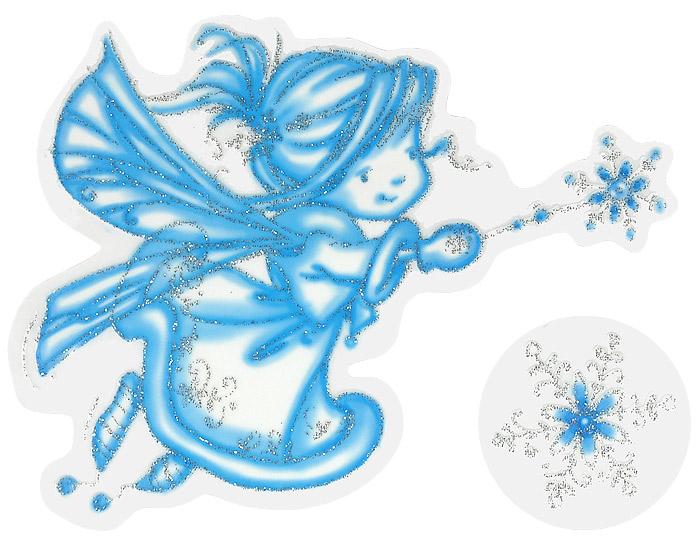 Рисунки фея и снежинки