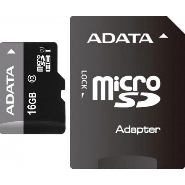 ADATA Premier microSDHC 16GB Class 10 UHS-I карта памяти + адаптер карта памяти что означает класс