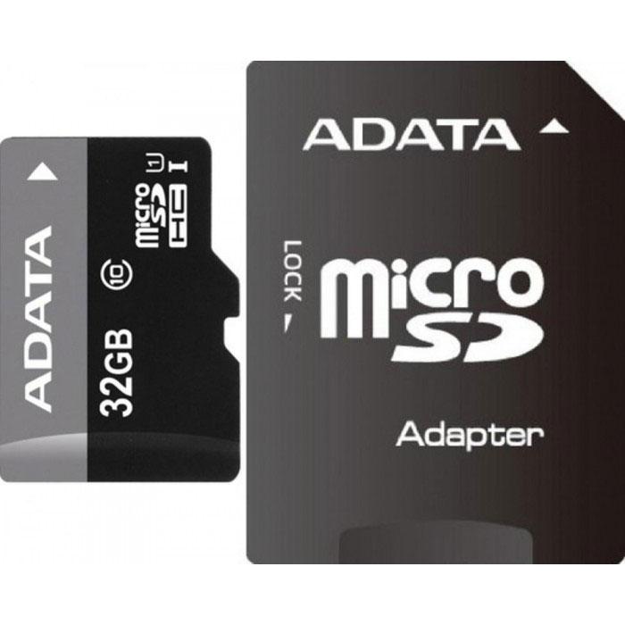 ADATA Premier microSDHC 32GB Class 10 UHS-I карта памяти + адаптер карта памяти что означает класс