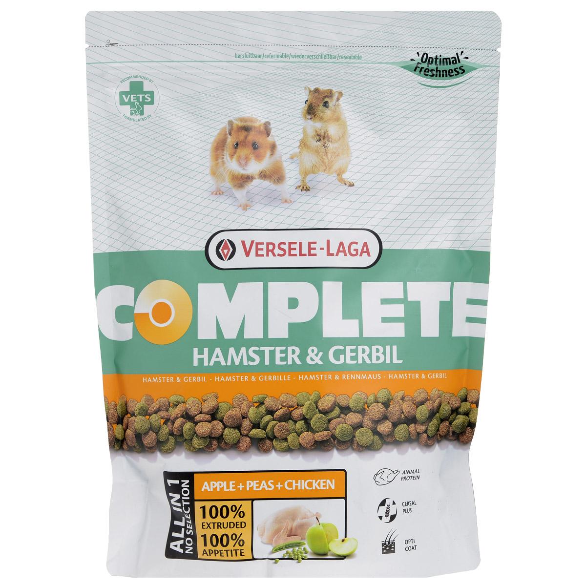 """Корм для хомяков и песчанок Versele-Laga """"Hamster & Gerbil"""", комплексный, 500 г"""