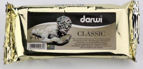 """Паста для моделирования Darwi """"Classic"""", цвет: белый, 250 г"""