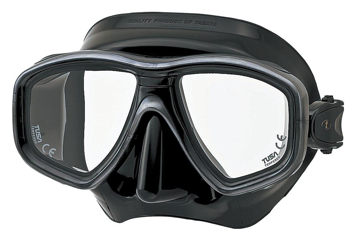 Маска для плавания Tusa Freedom Ceos Pro, цвет: черный маска для плавания wave цвет черный m 1314