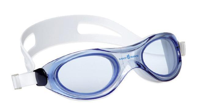 Маска для плавания MadWave Panoramic, цвет: синий