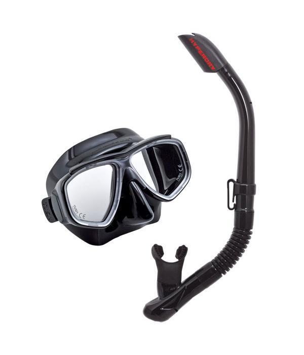 Комплект для плавания Tusa Sport UCR7519 BK/BK, (маска+трубка), цвет: черный все цены