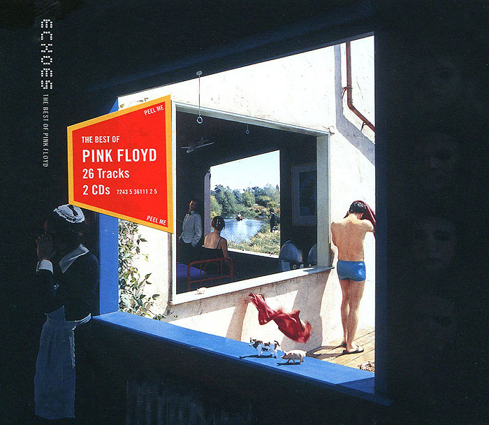 Pink Floyd Pink Floyd. Echoes. The Best of Pink Floyd (2 CD) floyd around the med