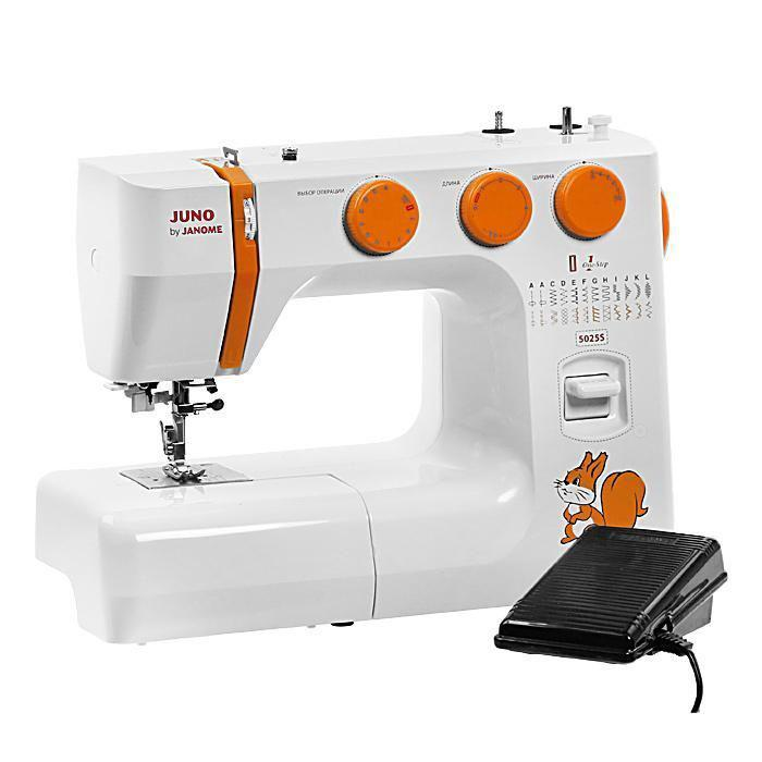 Швейная машина Janome Juno 5025S швейная машинка janome dresscode