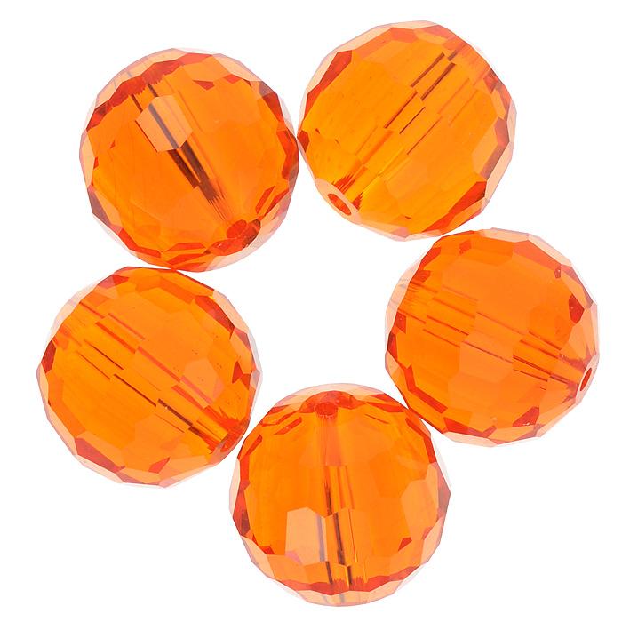 Бусины Астра, цвет: оранжевый (24), диаметр 15 мм, 5 шт. 7705646_24 giacomo casanova the memoirs of jacques casanova de seingalt 1725 1798 volume 16 depart switzerland