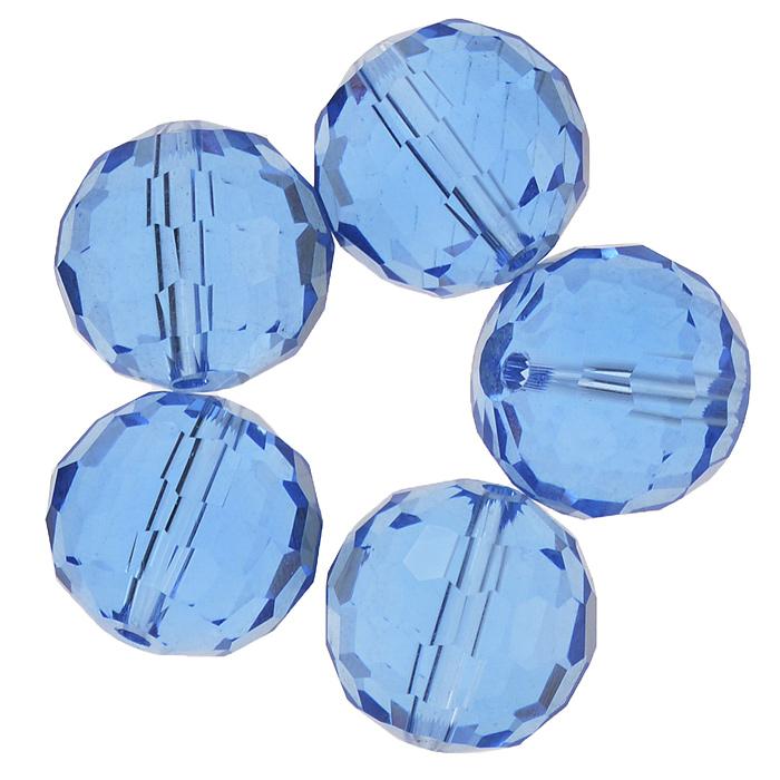 Бусины Астра, цвет: синий (4), диаметр 15 мм, 5 шт. 7705646_4 цена