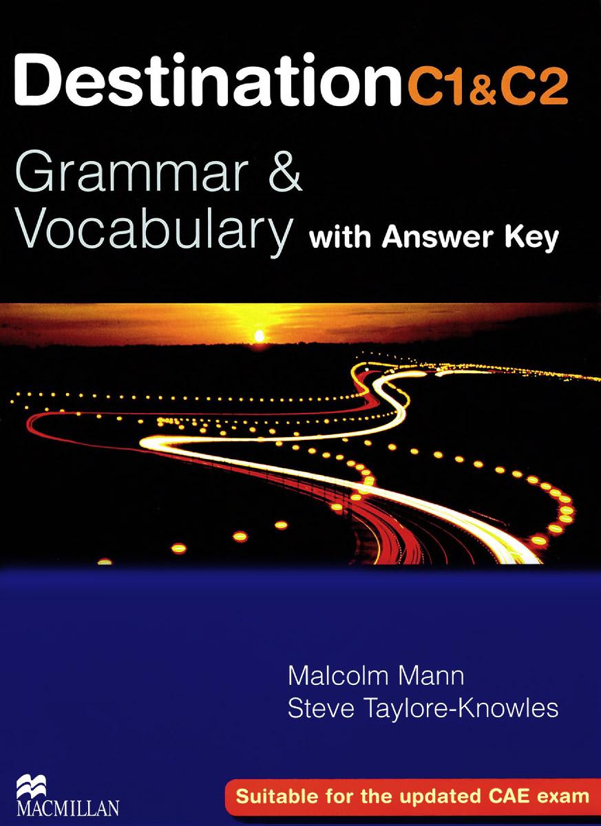 Destination Grammar: C1: Student's Book with Key