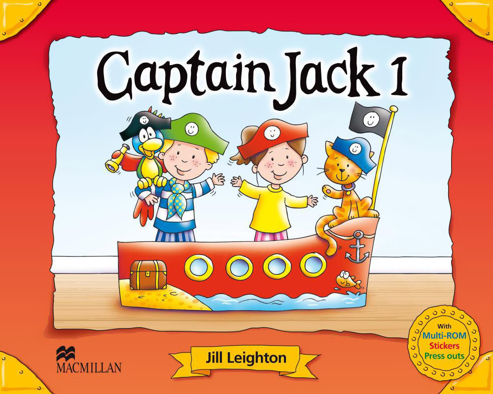 Captain Jack 1: Pupil's Book (+ Multi-ROM, Press outs and Stickers) captain jack captain jack 2 flashcards