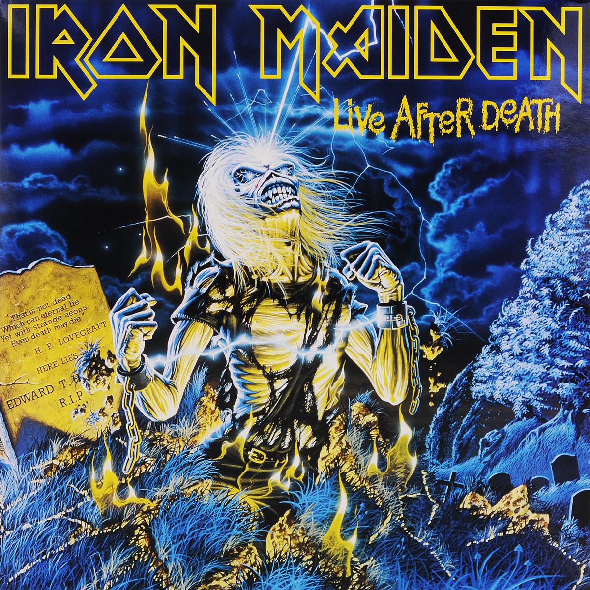 Iron Maiden. Live After Death (2 LP)