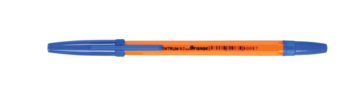 80087 Ручка ORANNGE синяя Centrum, 1,0 мм 50 шт centrum centrum набор скрепок цветных 50 мм 6 штук crazy pets