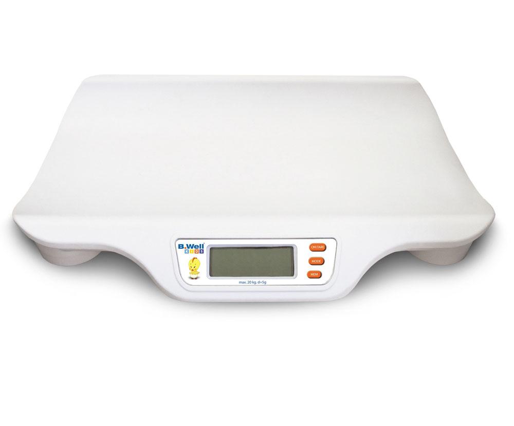 Весы детские B.Well WK-160, электронный дисплей, память на последнее измерение