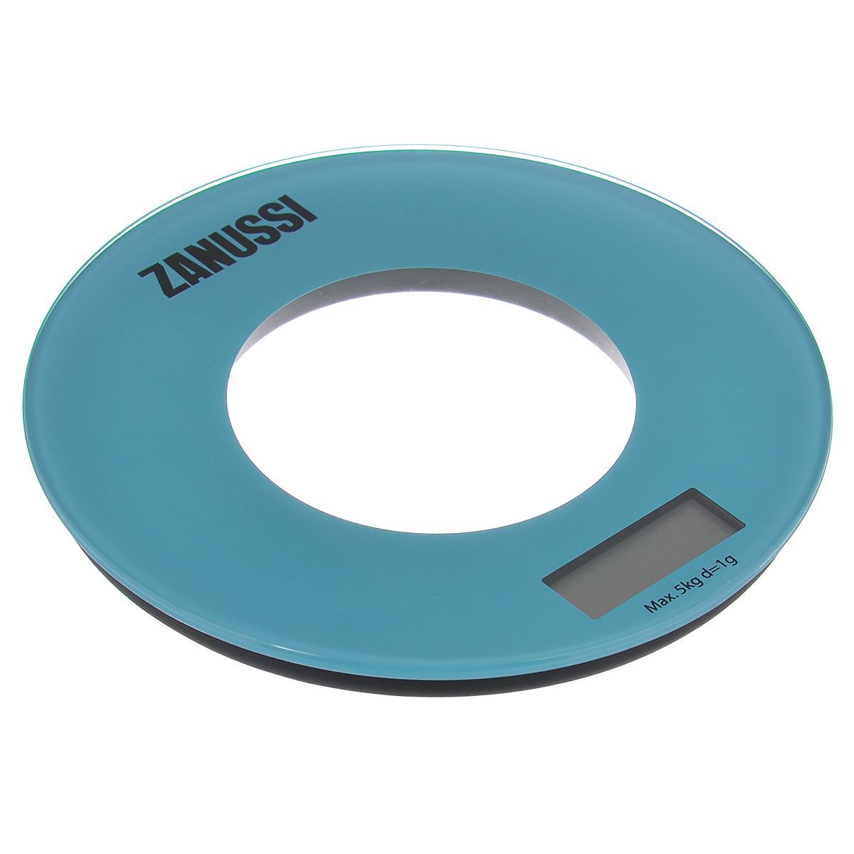 """Кухонные весы Zanussi """"Bologna"""", цвет: голубой. ZSE21221FF"""