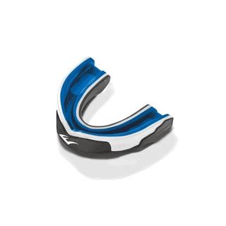 """Капа одночелюстная Everlast """"EverGel"""", взрослая, цвет: серый, прозрачный, синий"""