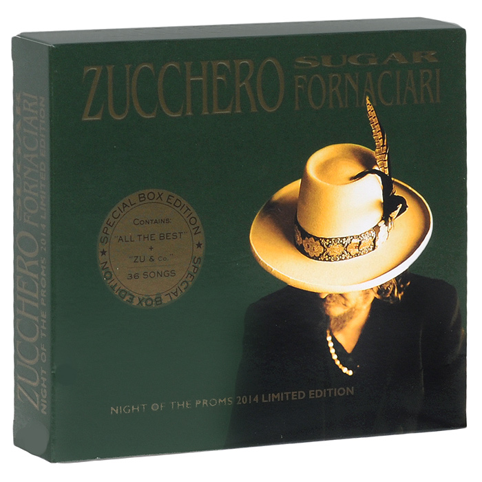 Зуккеро Zucchero. Sugar Fornaciari. Night Of The Proms 2014. Limited Edition (2 CD)