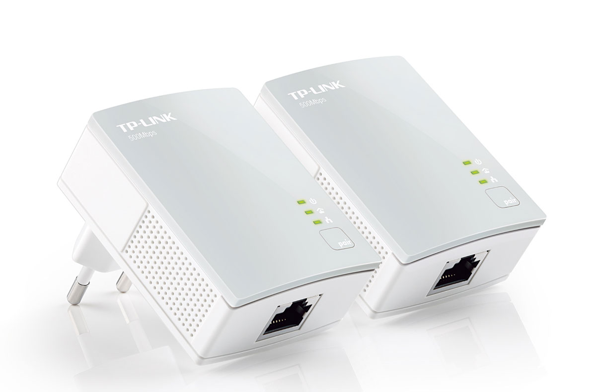 TP-Link TL-PA4010KIT AV500/AV600 комплект Nano адаптеров Powerline