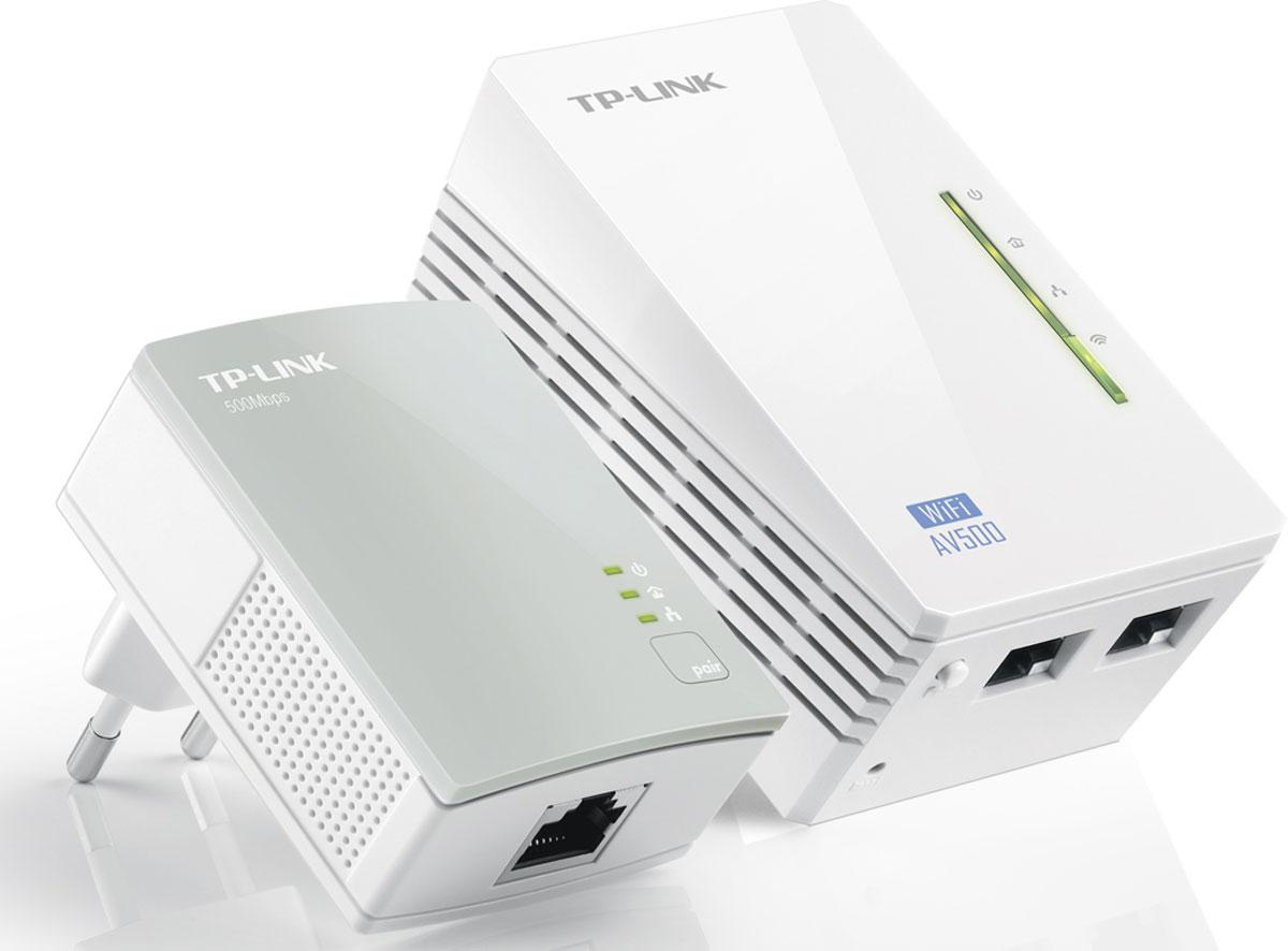 TP-Link TL-WPA4220KIT AV500 комплект адаптеров Powerline
