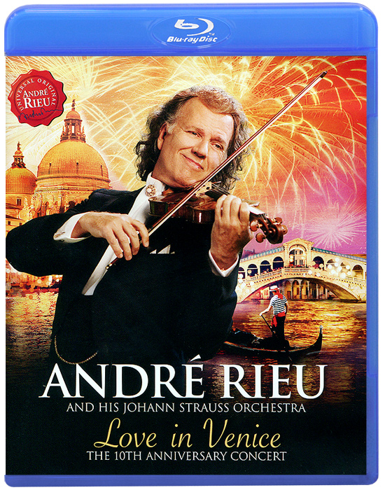 Andre Rieu. Love In Venice (Blu-ray) андрэ рье andre rieu in love with maastricht