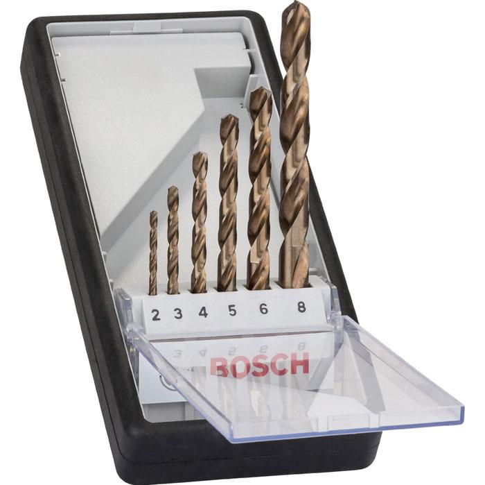 Набор сверл по металлу Bosch HSS-CO, 6 шт набор полотна ножовочного по металлу b10 90014 6 шт