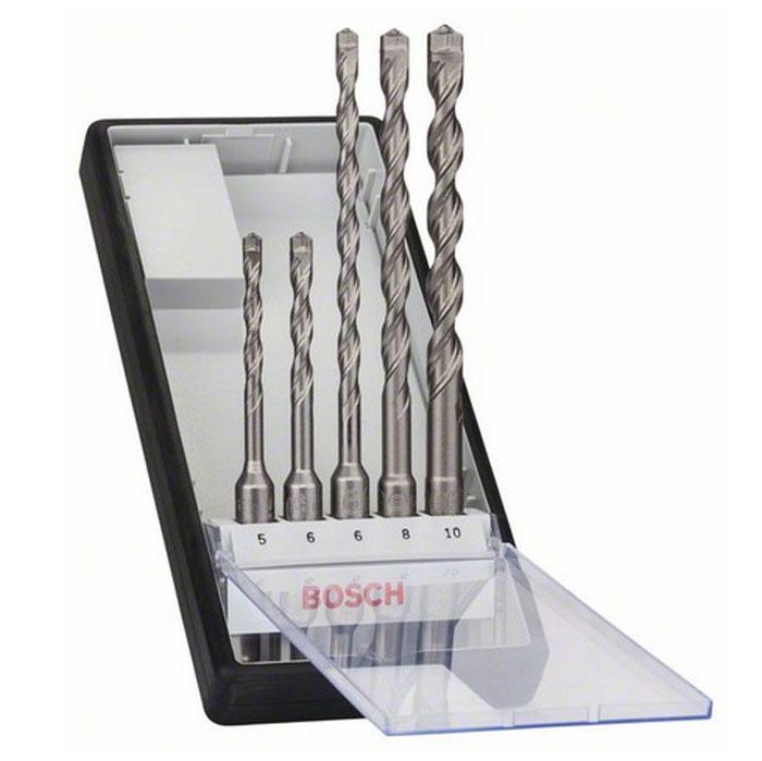 Набор сверл Bosch SDS plus-7, 5 шт набор насадок sds plus bosch 2 607 019 457