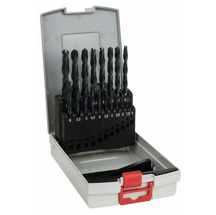 Набор сверл по металлу Bosch HSS-R,19 шт цены