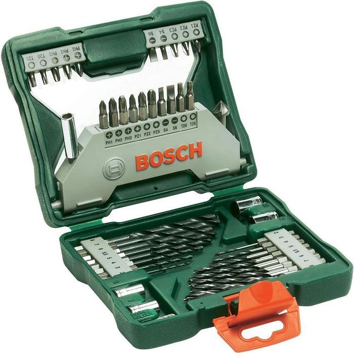 Набор бит и сверл Bosch X-Line, 43 предмета bosch x line 43 2607019613