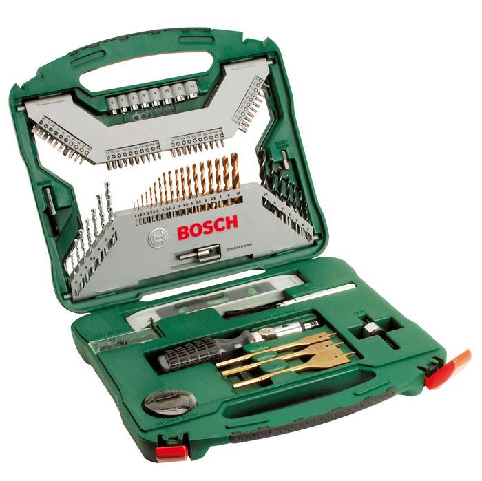 Набор оснастки Bosch X-Line, 100 предметов набор бит и сверел bosch x line 70 2607019329879