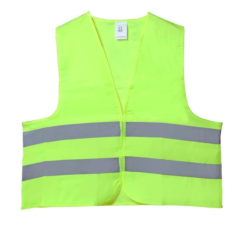 Жилет светоотражающий Airline, взрослый, цвет: желтый. Размер универсальный жилет светоотражающий светлячок эльфийская принцесса размер l