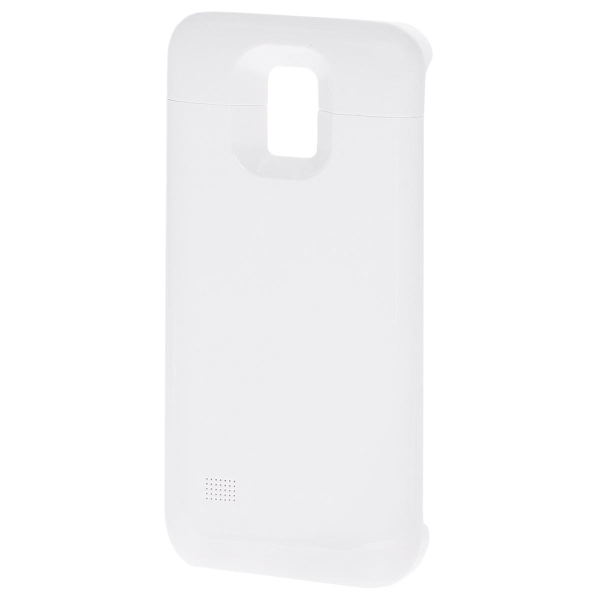 все цены на EXEQ HelpinG-SC09 чехол-аккумулятор для Samsung Galaxy S5 mini, White (3300 мАч, клип-кейс) онлайн