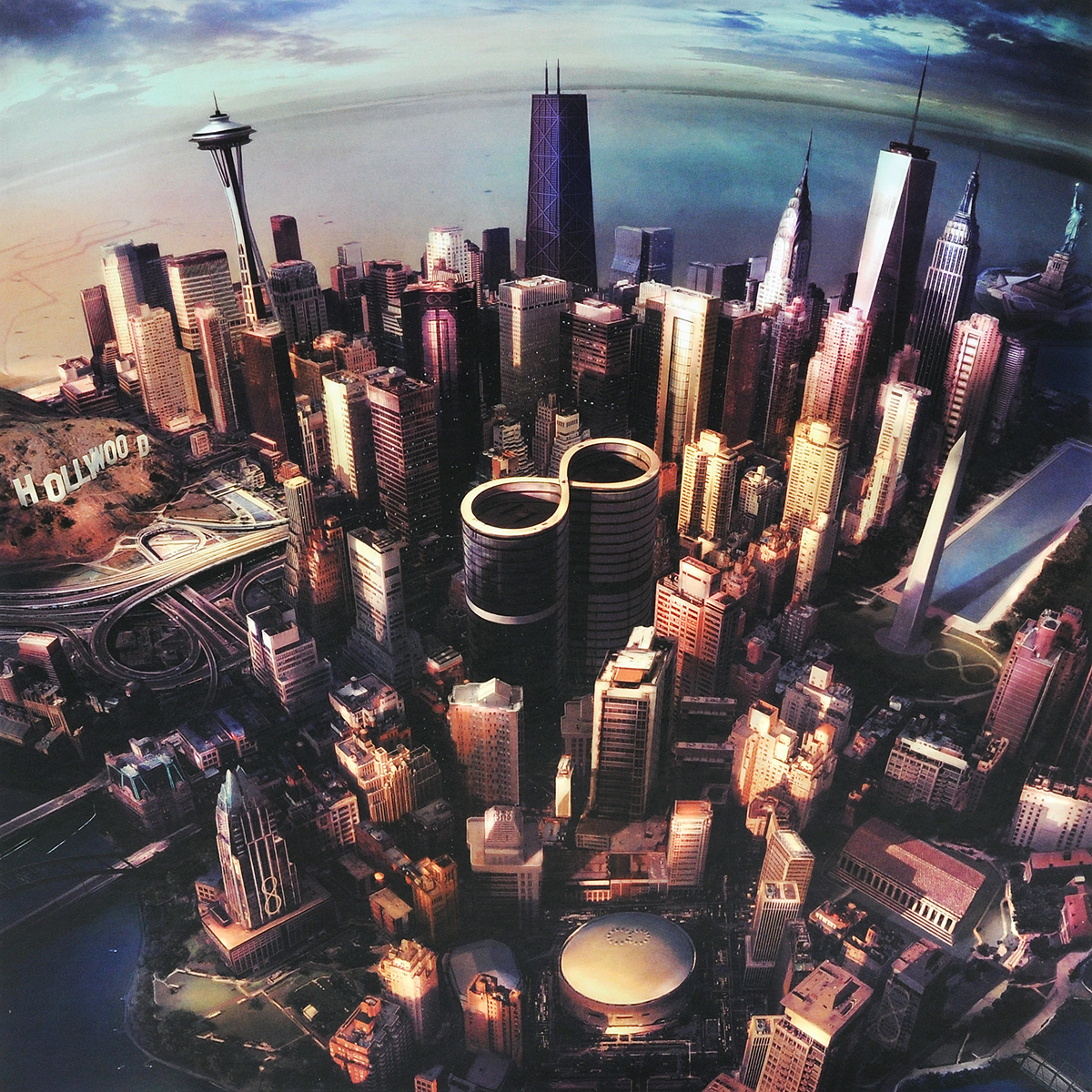 Foo Fighters Foo Fighters. Sonic Highways (LP) защитная пленка lp универсальная 2 8 матовая
