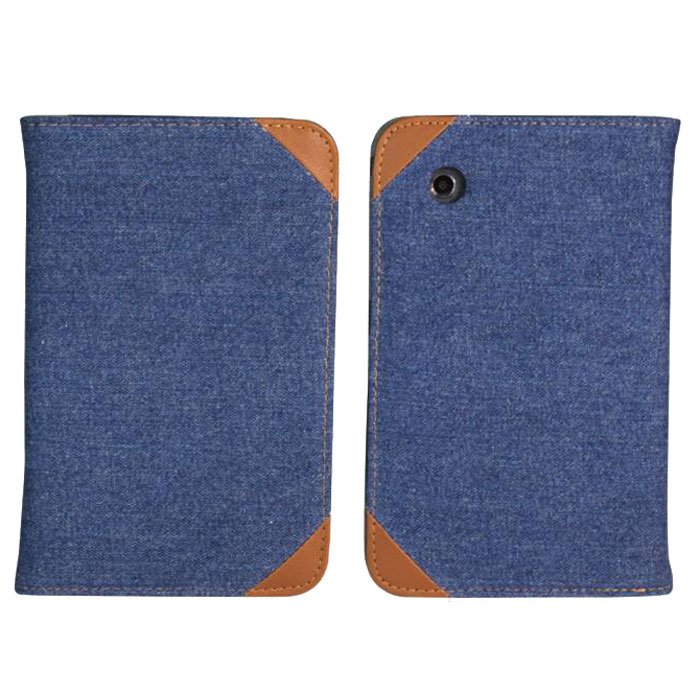 IT Baggage Jeans чехол для Samsung Galaxy Tab 2 7 P3100/P3110, Black Blue чехол it baggage для планшета samsung galaxy tab 7 p3100 p3110 искус кожа jeans черный синий itssgt7208 4