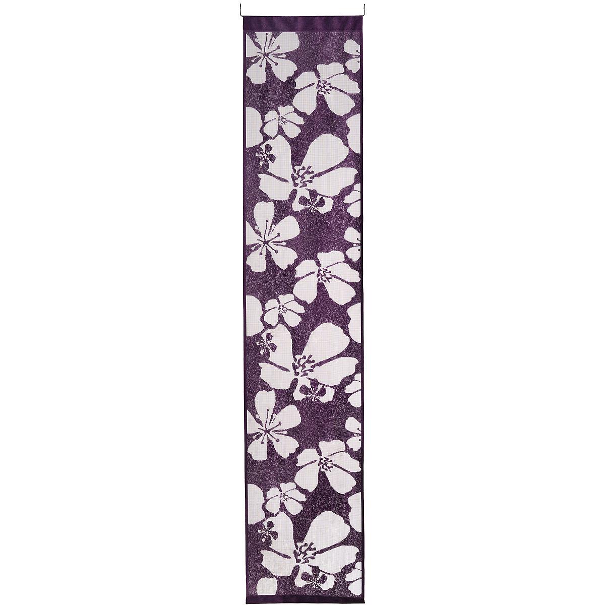 Гардина-панно Wisan, на кулиске, цвет: фиолетовый, высота 240 см. 9897 гардина wisan 040w