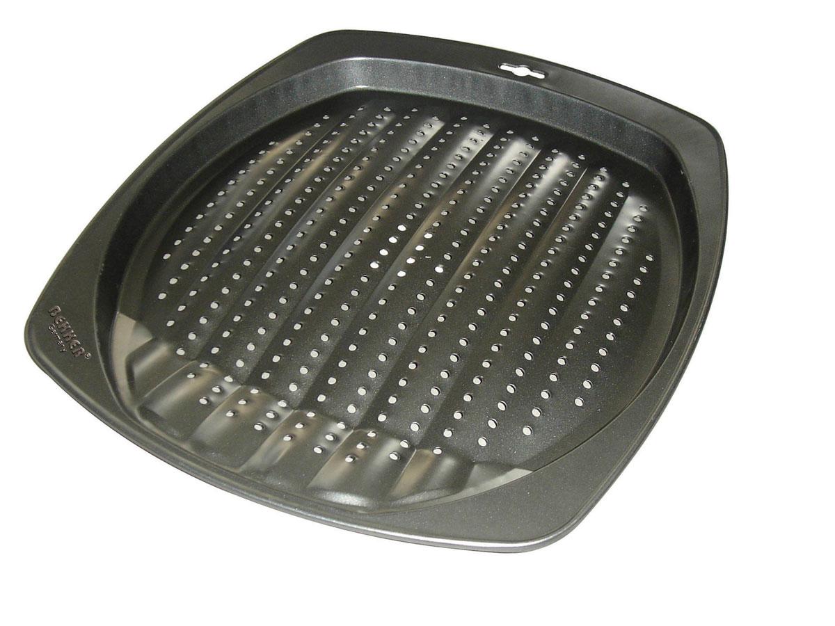 Противень для приготовления картофеля фри Bekker Koch, с антипригарное покрытием, 39 см х 34,5 см х 2,5 см диск для картофеля фри bosch muz8ps1