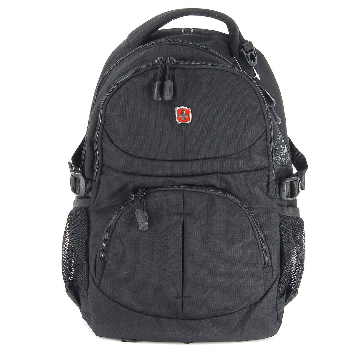 все цены на Рюкзак Wenger, цвет: черный, 33 см х 15 см х 45 см, 22 л онлайн