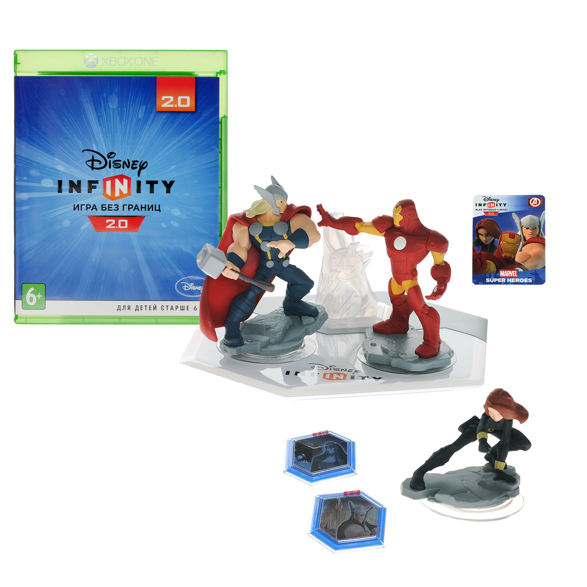 Disney Infinity 2.0 (Marvel). Стартовый набор (Xbox One) disney infinity мэтр