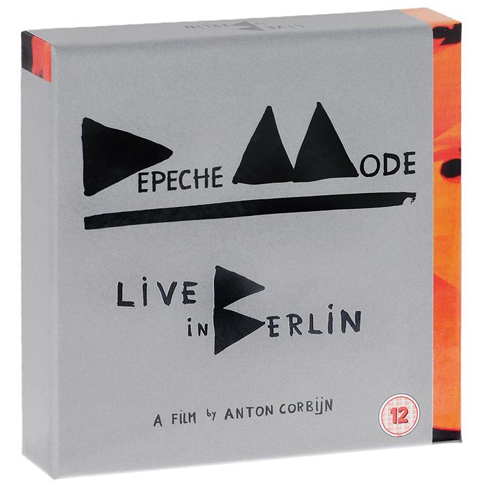 Depeche Mode Depeche Mode. Live in Berlin. Deluxe Edition (2 CD + 2 DVD + Blu-ray) depeche mode tour of the universe barcelona 20 21 11 09 2 blu ray