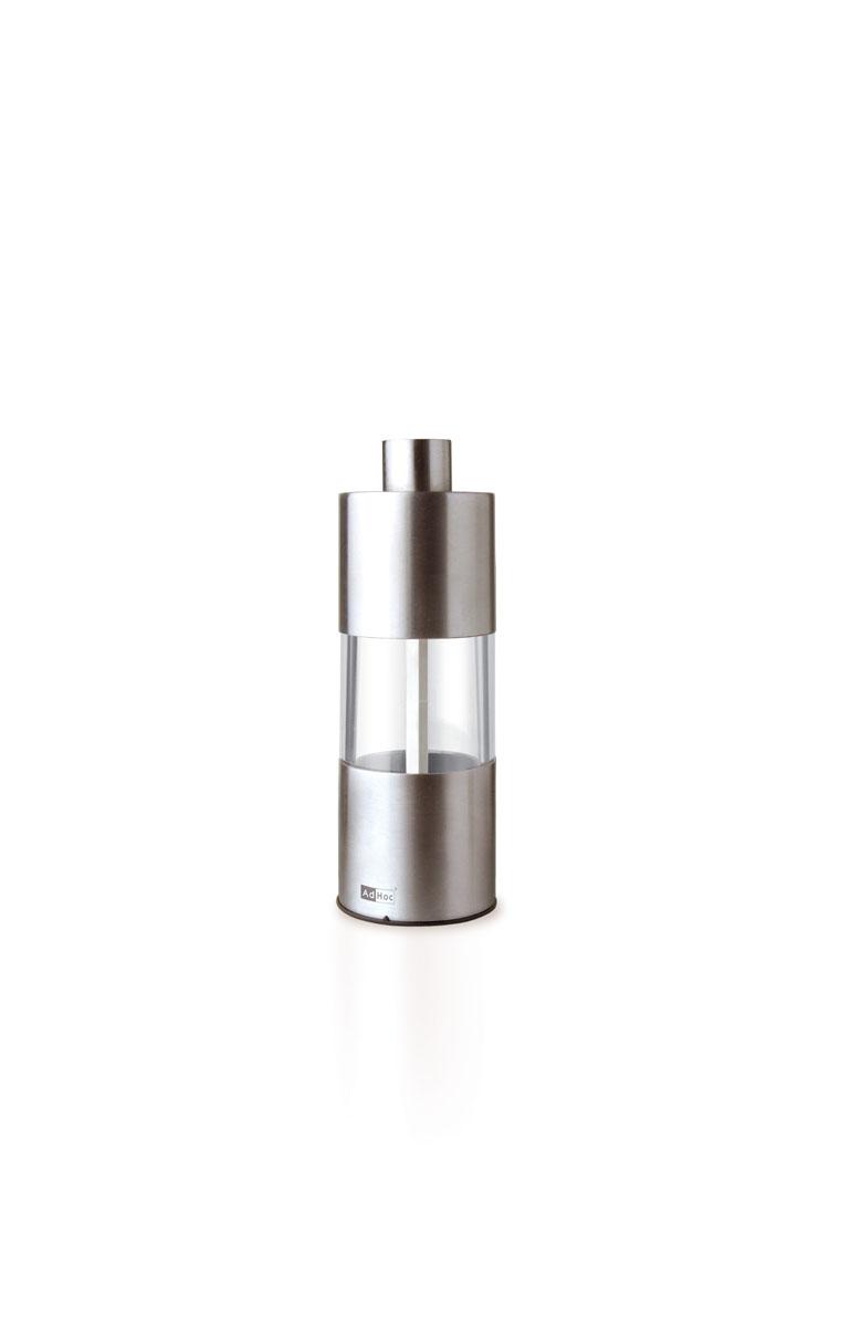 Мельница для соли/перца AdHoc, сталь мельница для специй adhoc textura antique белый 15 см